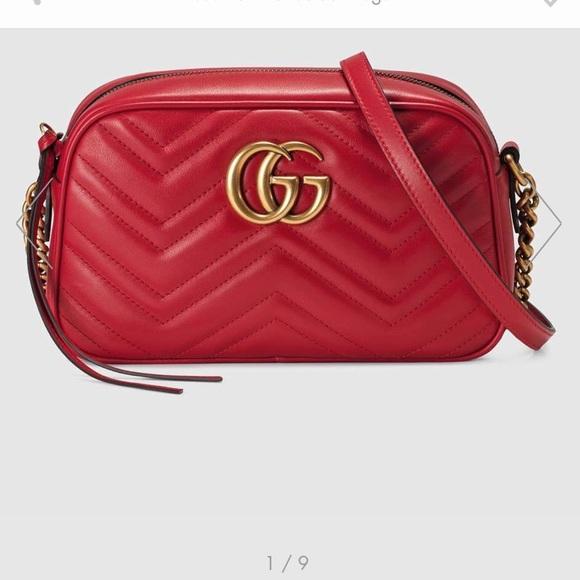 b8f91e691 Gucci Bags | New Marmont Small Matelasse Shoulder Bag | Poshmark